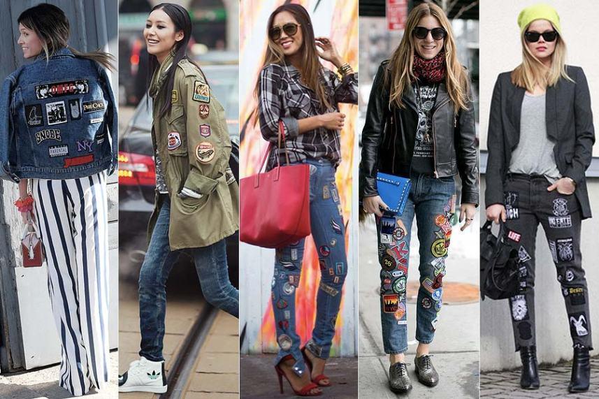 Resultado de imagem para patches jeans