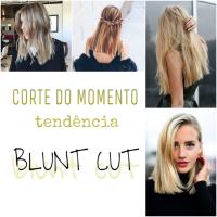 BLUNT CUT, O NOVO CORTE DO MOMENTO